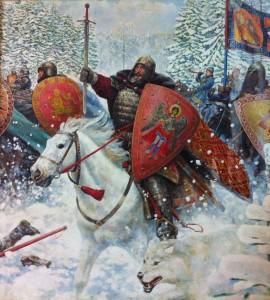 chevalier neige